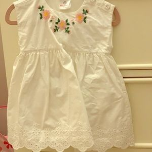Nwt hanna andersson embroidered dress